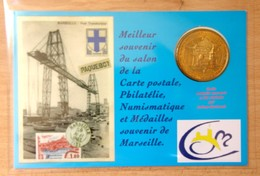 Médaille Touristique MARSEILLE - Salon De Marseille ACMT / Arthus Bertrand 2010 - 2010