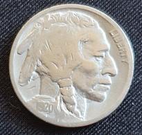 United States 5 Cents 1920 - 1913-1938: Buffalo