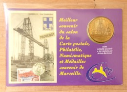 Médaille Touristique MARSEILLE - Salon De Marseille ACMT / Nacelle Du Pont à Transbordeur 2010 - 2010