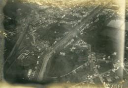France WWI Versailles Vue Aérienne Ancienne Photo 1918 - Guerre, Militaire