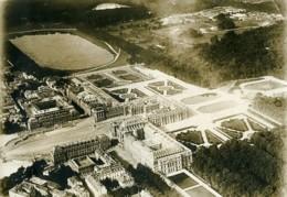 France WWI Versailles Chateau Jardins Vue Aérienne Ancienne Photo 1918 - Guerre, Militaire