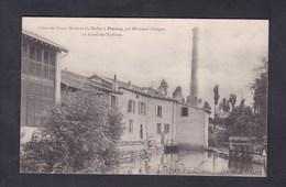 Peu Courante Poussay ( Par Mirecourt 88) Usine Des Forces Motrices Du Madon - Canal Des Turbines - Autres Communes