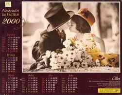 °° Calendrier Almanach La Poste 2000 Oller - Dépt 72 - Enfants - Calendriers
