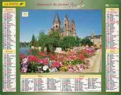 °° Calendrier Almanach La Poste 2004 Lavigne - Dépt 72 - Paysages D'Alsace Lorraine - Kalenders
