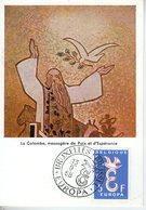 Belgique. Carte Maximum. Europa 1958 - Maximumkarten (MC)