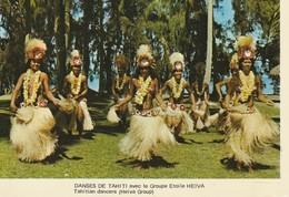 Tahiti  Danses De Tahiti Avec Le Groupe Etoile Heiva Tahitian Dancers (Helva Group) - Tahiti