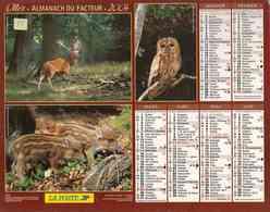 °° Calendrier Almanach La Poste 2004 Oller - Dépt 72 - Animaux Divers - Kalenders