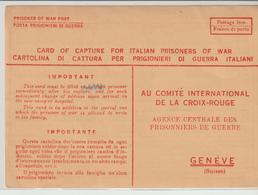 75-Posta Militare 2^Guerra-Franchigia Croce Rossa-v.20.8.43 Da Potenza X Ginevra - Croce Rossa