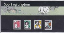 Denmark, SM 51, Souvenir Folder, Sports And Youth, 2003         Postal Value 29,75 Kr - Dänemark