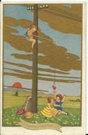 CARTE POSTALE FANTAISIE Illustration DEGANNI - Bonne Fête - Künstlerkarten