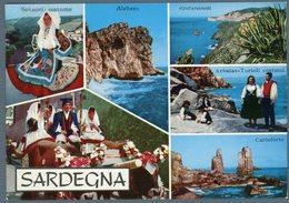 °°° Cartolina N. 128 Sardegna Vedutine Viaggiata °°° - Altre Città
