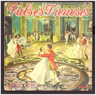 Disco De Vinilo A 45 Rpm. Strauss. Valses Vieneses. Vol 1. Danubio. Emperador... Condicion Media. - Classical