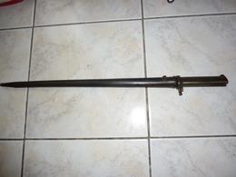Baionnette   Mauser Ersatz EB Ersatz Bayonet - Armes Blanches
