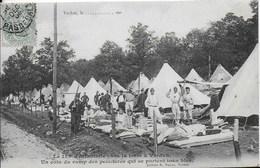 55 - VERDUN - LE 155 EME D INFANTERIE SOUS LA TENTE - EDITION VACHER - Verdun