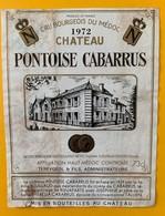 10809 - Château Pontoise Cabarrus 1972 Médoc - Cahors