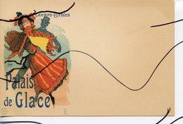 CPA  .  PALAIS DE GLACE.  CHAMPS-ELYSEES . ILLUSTRATEURS CHERET.EDITEUR CINOS - Illustratori & Fotografie