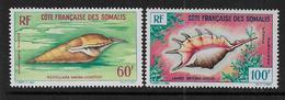 Cote Des Somalis -  Série P.A.  31 à 32 **   - Cote : 20 € - Nuovi