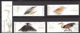 BIRDS - 2016 - NAMIBIA -  Yv. Nr.  1370/1374 - NH - (CW4755.32) - Namibia (1990- ...)