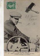Hubert Latham - Aviateur Célebre Par Ses Prouesses De Vitesse,durée,hauteur 1910 - CPA - Aviateurs
