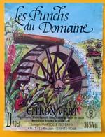 10816 - Les Punchs Du Domaine Citron Vert Joseph Marsolle La Boucan Sainte-Rose Guadeloupe - Rhum