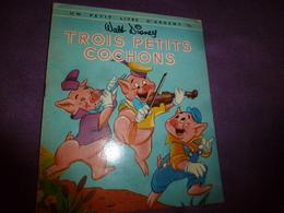 1953 TROIS PETITS COCHONS, Par Walt Disney  (Edition Des Deux Coqs D'Or ) - Bücher, Zeitschriften, Comics