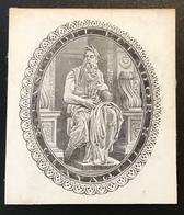 """BANCO DEL ECUADOR GUAYAQUIL ~ 1870 De La Rue Essay For Banknote """"Pan ? God Mythology"""" (paper Money, Billet De Banque - Equateur"""