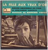 Disque Vinyle à 45 Tours. Du Film La Fille Aux Yeux D'or. Narciso Yepes. Avec Marie Laforêt.  Etat Moyen. - Filmmusik