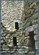 °°° Cartolina N. 139 Barumini Muraghe Su Nunari Veduta Del Cortile Con L'ingrsso Alle Varie Torri Viaggiata °°° - Altre Città