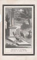 Joannes Baptista Bracke-wachtebeke 1837-1868 - Devotion Images