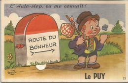 Route Du Bonheur   Le Puy L AUTO STOP CA ME CONNAIT - Humour