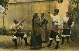 Zaragoza Bailando La Jota . Guitara. Guitare . Circulada Desde Ateca - Zaragoza