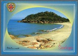 °°° Cartolina N. 140 Marina Di Gairo - Il Mare Viaggiata °°° - Altre Città