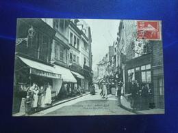 1909 HONFLEUR  RUE DU DAUPHIN  BON ETAT - Honfleur