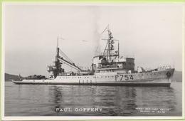PAUL GOFFENY   / Photo Marius Bar, Toulon / Marine - Bateaux - Guerre - Militaire - Guerra