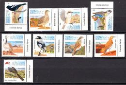 BIRDS - 2012 - NAMIBIA -  Yv. Nr.  1252/1260 - NH - (CW4755.32) - Namibia (1990- ...)