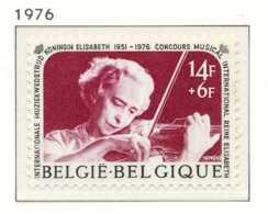[151471]SUP//**/Mnh-[1804] Belgique 1976, Concours Musical Reine Elisabeth, Musique, Violon, SNC - Music