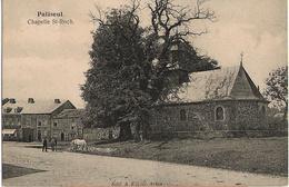 Paliseul - Chapelle St-Roch Homme Et Chevaux - Circulé 1923  - Edit. A. Kayser - SUPER - Paliseul