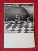 POSTAL POST CARD AJEDREZ CHESS Échecs SCHACH XADREZ GODFRIED VAN UTRECH SCHAAKSPEL VER FOTOS . ERÓTICA EROTIQUE EROTIC - Postales