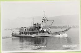 SCARABEE   / Photo Marius Bar, Toulon / Marine - Bateaux - Guerre - Militaire - Guerre