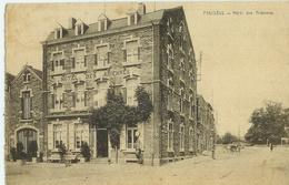 Paliseul - Hôtel Des Ardennes Et Rue Au-dessus - Circulé 1925  -Desaix  Edit. Hôtel Des Ardennes - Paliseul