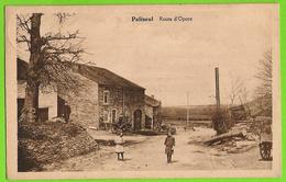 Paliseul - Route D'Opont Avec Enfants - Circulé 1925 - Edition Bodson Labbé - SUPER - Paliseul