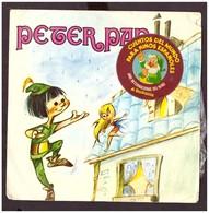 España. Disco De Vinilo A 45 Rpm. Peter Pan. Condicion Media. - Filmmusik