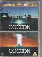 2 Dvd  EN Anglais !!!  COCOON   1 ET 2  !!!  Etat: TTB  Port 160 Gr - Sci-Fi, Fantasy