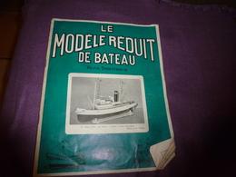 1963 Le Modèle Réduit De BATEAU (L'Oiseau Des Îles De M. B. Morio (Vannes)(Chalutier Anglais Gleaner Par Alain Sergent) - Bateaux