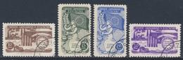 Turkey Turquie Turkei 1954 Mi 1391 /4 YT 1215 /8 Sc 1130 /3 SG 1535 /8 - Used -  5th Ann. Council Of Europe / 5 Jahre Eu - EU-Organe