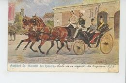 """AUTRICHE - Jolie Carte Viennoise """"Ausfahrt Sr. Majestät Des Kaisers (FRANÇOIS JOSEPH ) Signée H.G. WILDA - Autres"""