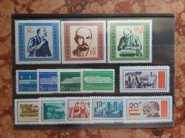 BULGARIA - Nn. 1767/69 + 1744/47 + 1708/13 - Serie Complete Nuove ** + Spese Postali - Bulgarien