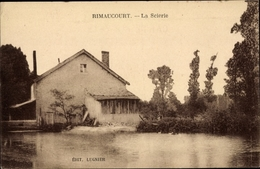 Cp Rimaucourt Haute Marne, La Scierie - Autres Communes