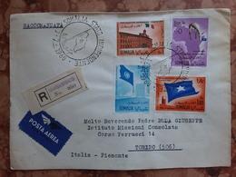 SOMALIA - Proclamazione Indipendenza 1960 - Raccomandata Viaggiata + Spese Postali - Somalia (1960-...)
