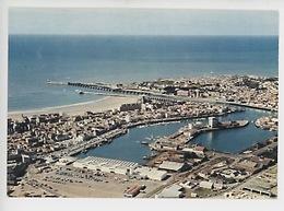 Les Sables D'Olonne : La France Vue Du Ciel - Le Port (cp Vierge N°26) - Frankreich